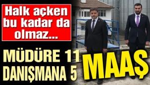 AK Partide durmak yok..Müdüre 11 maaş danışmanına 5 maaş