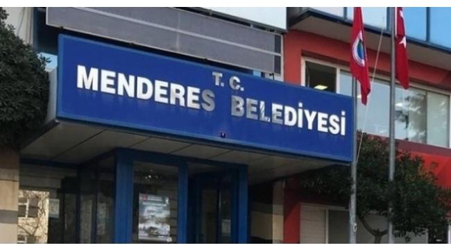 Menderes Belediyesine polis baskını