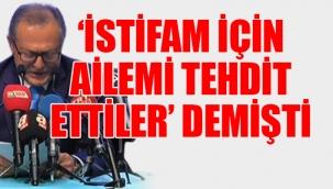 Belediye başkanlığından ağlayarak istifa eden Ahmet Edip Uğur hayatını kaybetti